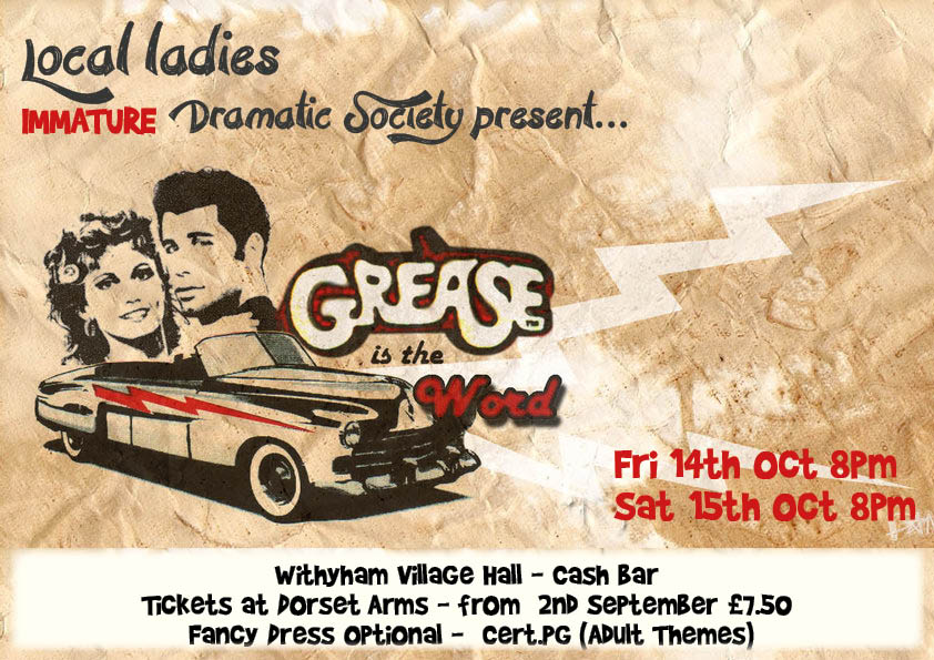 Grease A4 Poster 6