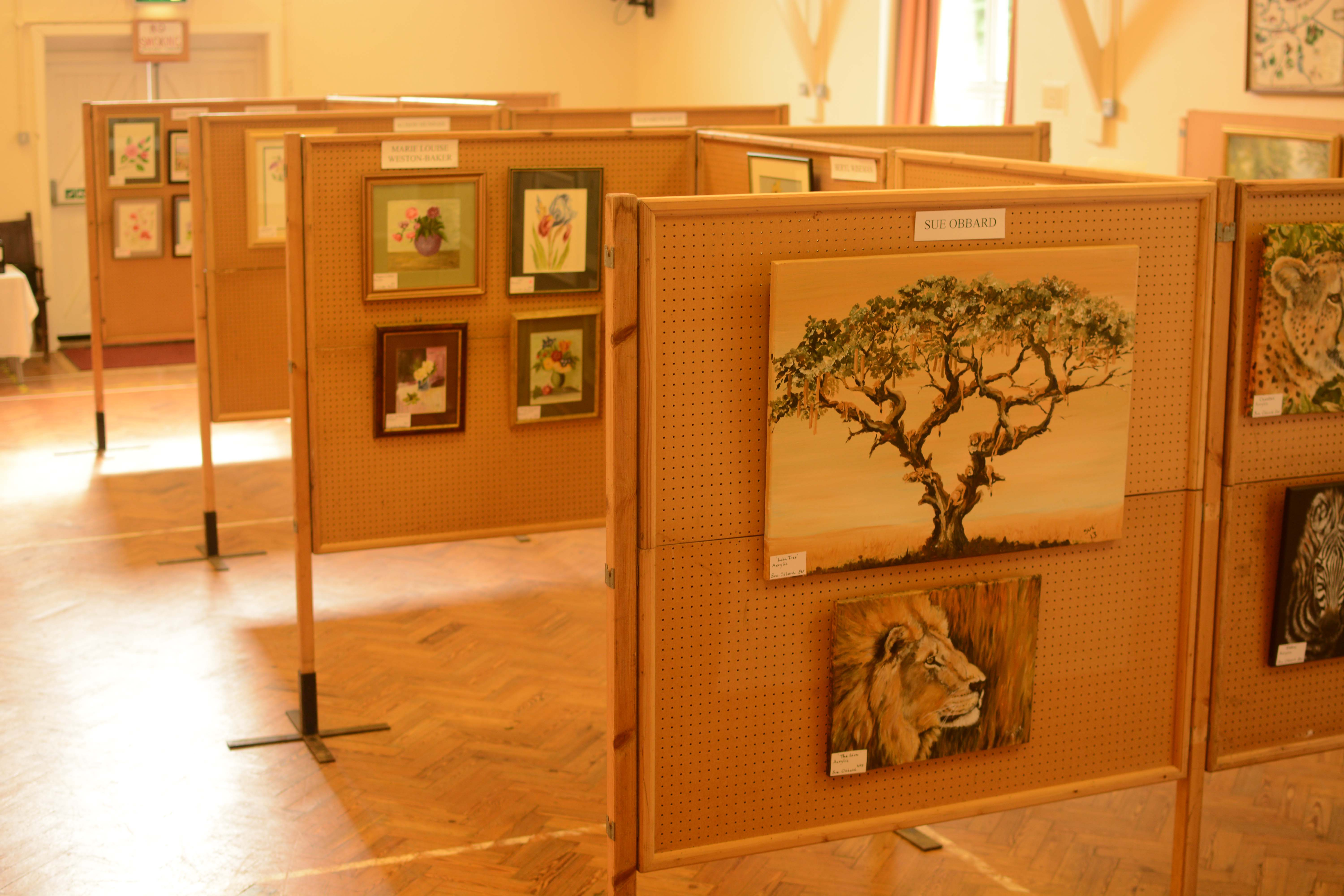 Hire the hall for an exhibition!