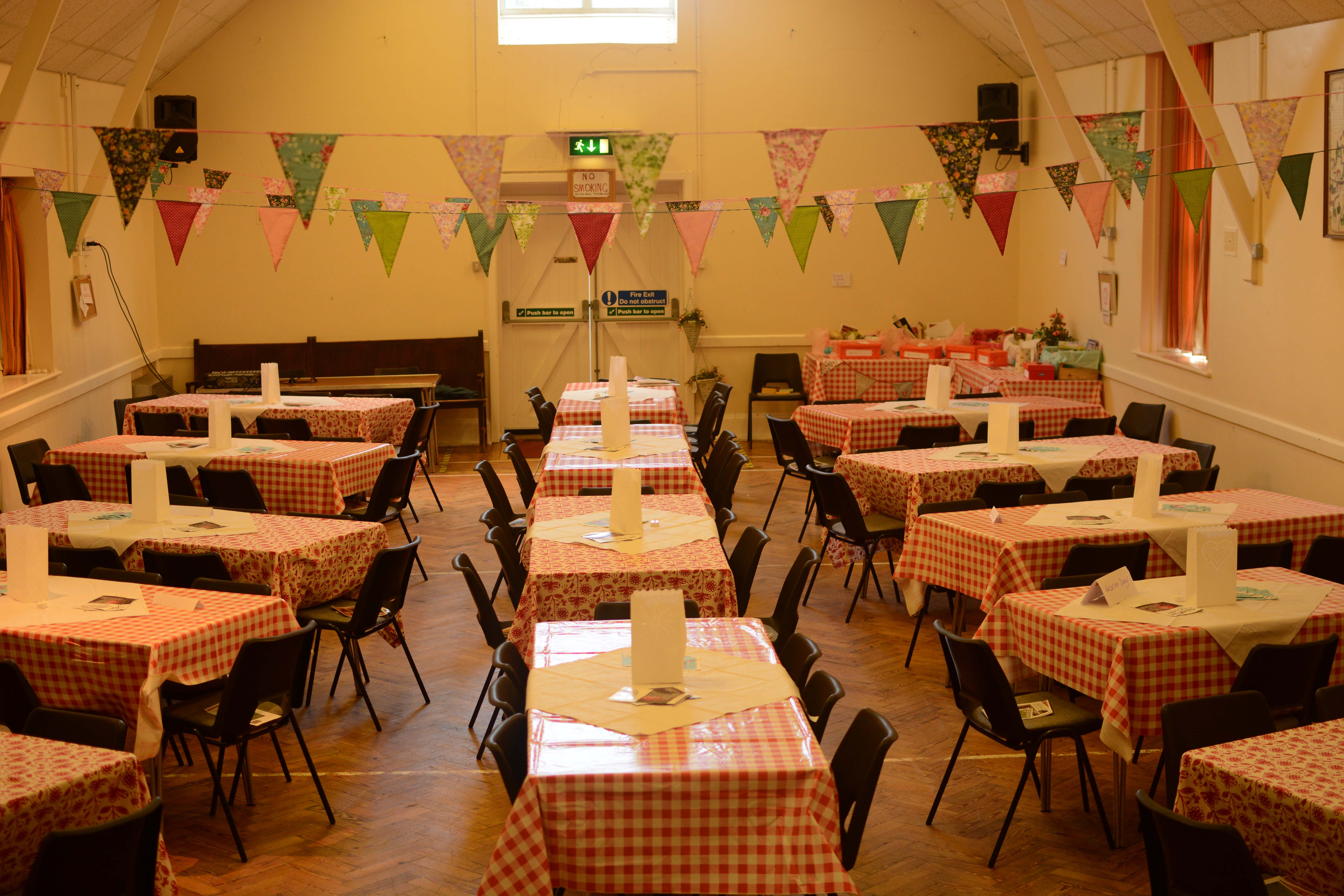 Hire the hall for a wedding, party or quiz!