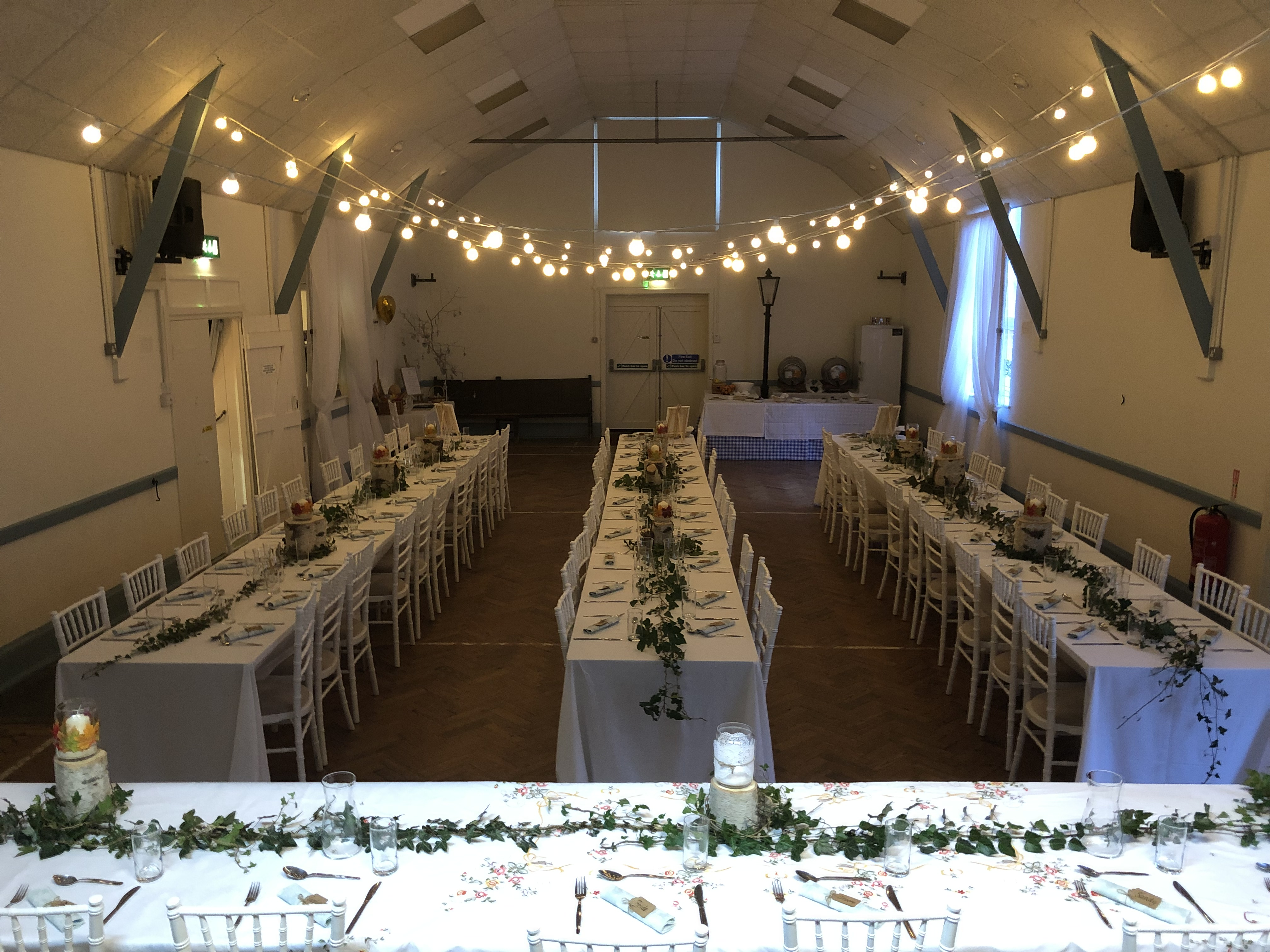 Hire the hall for a wedding!